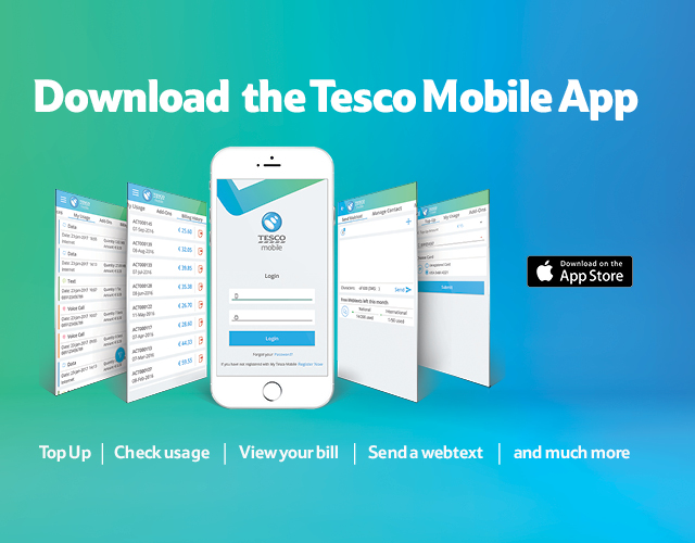 Mobile App | Tesco Mobile