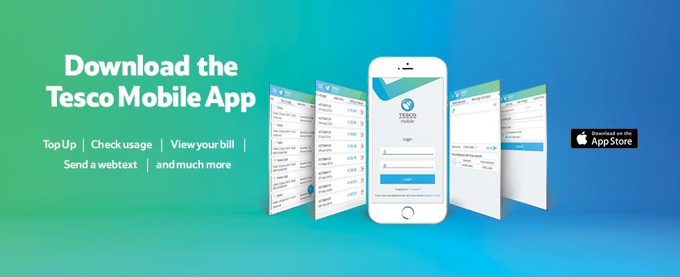 Mobile App | Tesco Mobile