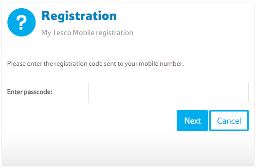 how to find my tesco mobile number