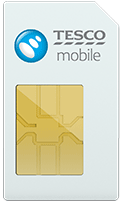 tesco mobile sim card